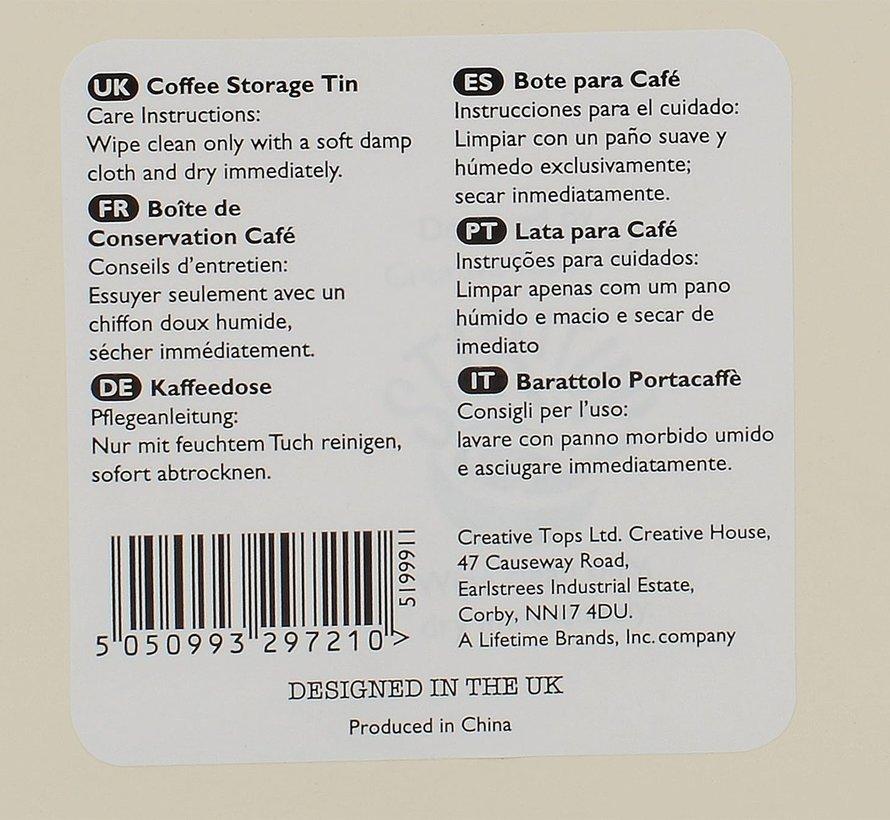 Voorraadblik thee -TEA-