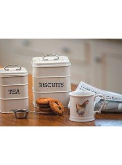 Stir It Up; Wit servies met tekst Copy of Voorraadblik koffie -COFFEE-