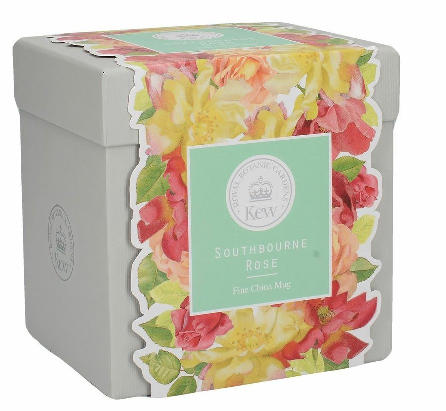 Southbourne Rose; hoge mok mintgroen