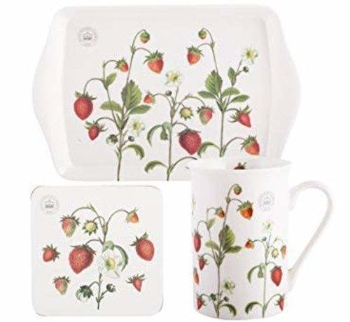 KitchenCraft; Engelse Kwaliteitsprodukten Cadeauset Strawberry Fayre