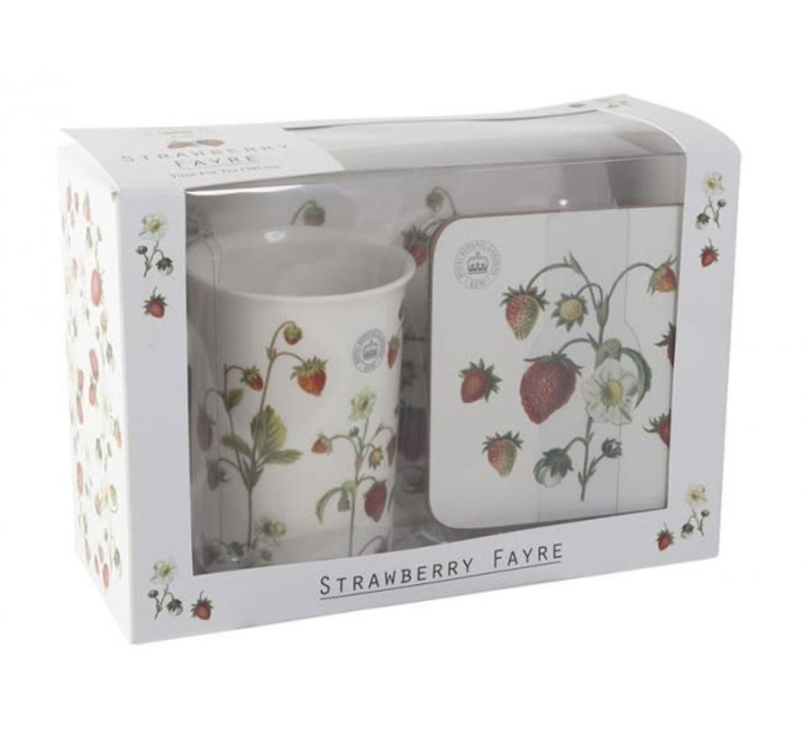 Cadeauset Strawberry Fayre