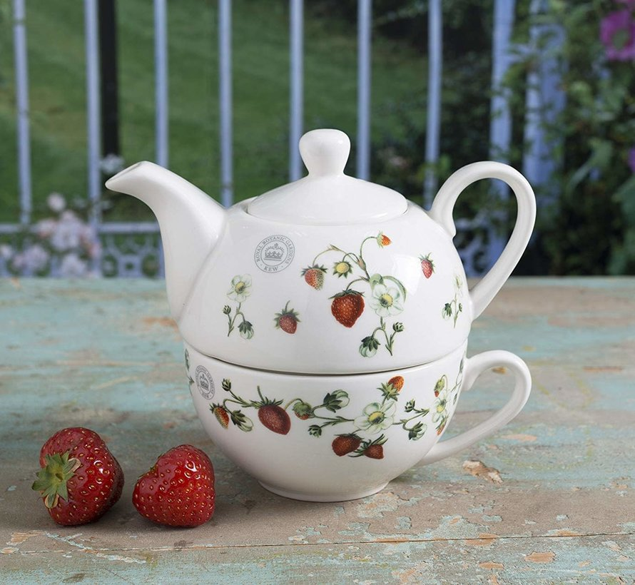 "Tea for One set Kew ""Strawberry Fayre"""