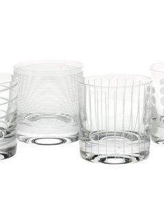 Mikasa Serviezen Mikasa tumbler whiskey glazen Cheers set/4