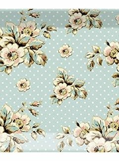 Katie Alice Cottage Flower; Compleet Vintage Servies met bloemen Dienblad Melamine Groot