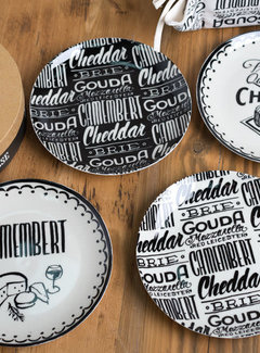 KitchenCraft; Engelse Kwaliteitsprodukten Gourmet Cheese Set van 4 kaasborden