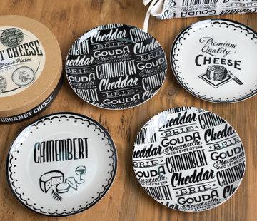 KitchenCraft; Engelse Kwaliteitsprodukten Copy of Gourmet Cheese Set van 3 serveerschaaltjes