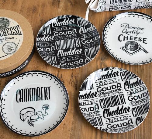 KitchenCraft; Engelse Kwaliteitsprodukten Gourmet Cheese Set van 4 kaasborden