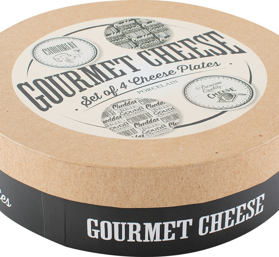 Copy of Gourmet Cheese Set van 3 serveerschaaltjes