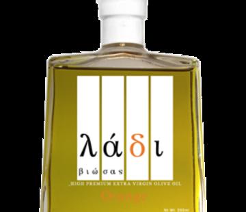 Ladi Biosas; Griekse streekprodukten Copy of Griekse Agrumato Olijfolie & Lemon 250 ml.