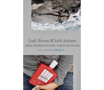 Ladi Biosas; Griekse streekprodukten Copy of Griekse olijfolie keramische groene fles Ltd. 700ml