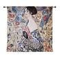 Signare Wandkleed Lady with Fan 100 x 100 cm