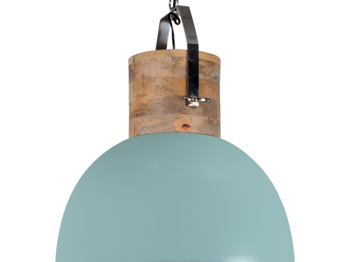 Couronne Ind. lamp Fabriano vintage green 43 cm. 706