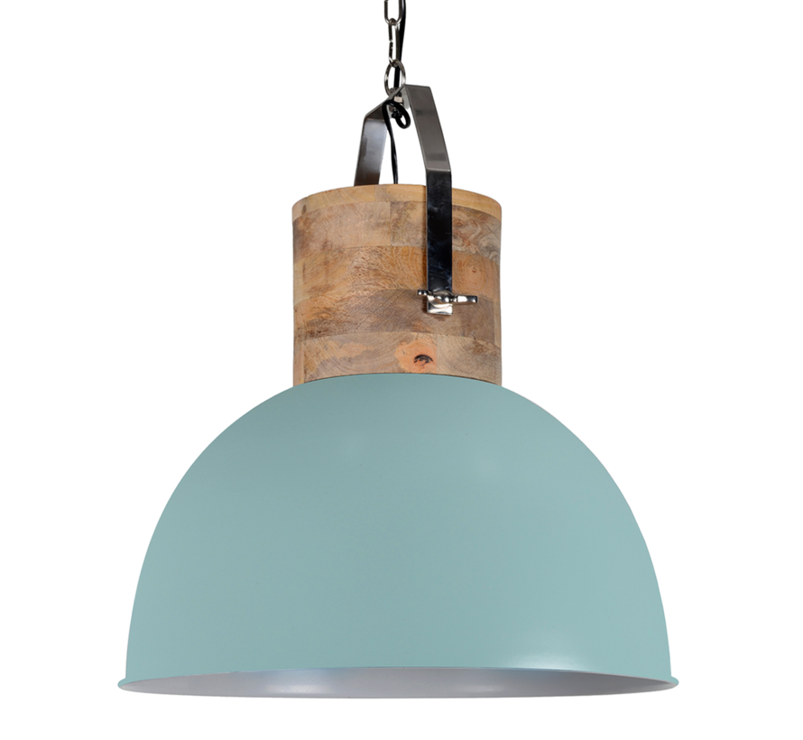 Ind. lamp Fabriano vintage green 43 cm. 706