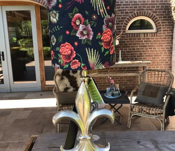 Diga by Colmore Colmore Lampenkap fluweel bloem