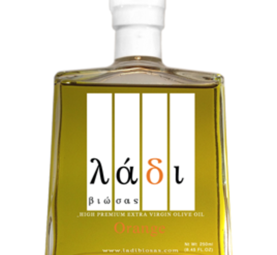 Griekse Agrumato Olijfolie & Orange 250 ml.