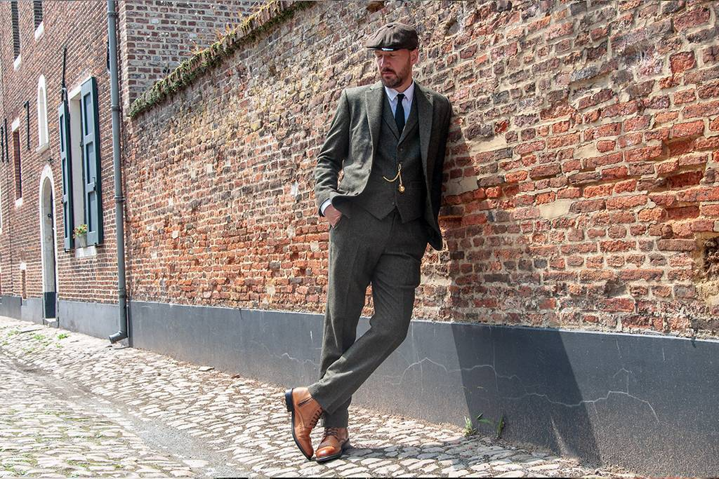 Shelby suit olive