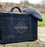 Shelby Briefcase - Italian Leather - Black