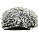 Shelby cap grey-tweed