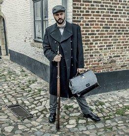 The Gypsy - Tweed Duffle Bag Grey