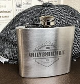 Shelby Brothers metal flask large