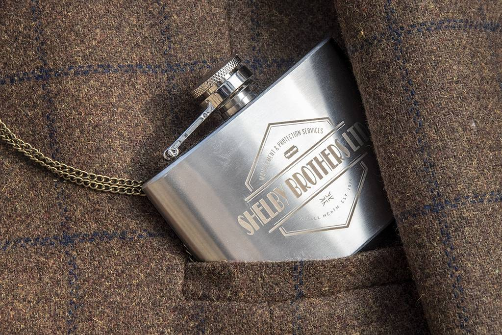 Shelby Brothers metal flask small