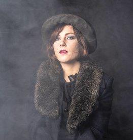 Polly olive tweed
