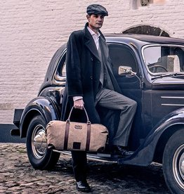 Birmingham - Harris Tweed Duffle Bag Beige