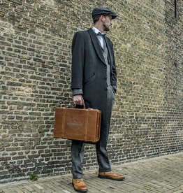 Shelby Briefcase - Italian Leather Cognac