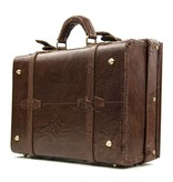 Shelby Briefcase - Italian Leather Brown