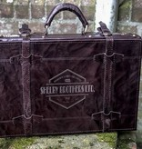 Shelby Briefcase - Italian Leather Brandy