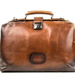 The Scumbag - Italian Leather Briefcase - Brown