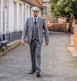 3-piece tweed suit Grey Blue Prince of Wales