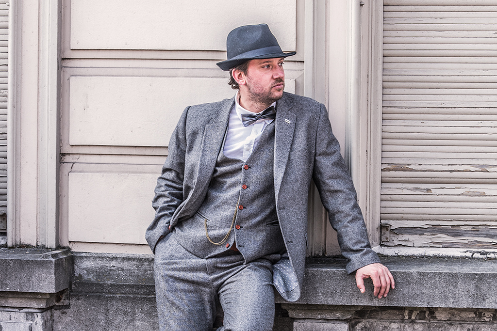 3-piece tweed suit  Classic Grey  Barleycorn