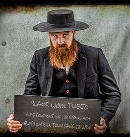 Alfie suit  Black Wool