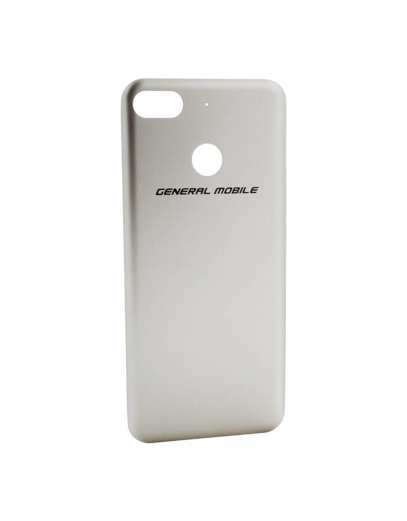 GM 8 GO Battery cover-White Gold