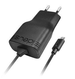 Ideus IDEUS TRAVEL CHARGER REVERSIBLE MICRO USB 1A BLACK