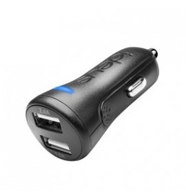 Ideus IDEUS CAR CHARGER DUAL USB 2.4Ah + 1Ah BLACK