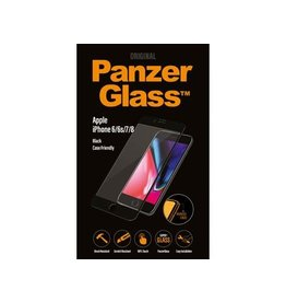 Panzerglass Apple iPhone 6/6s/7/8 - Black Case Friendly