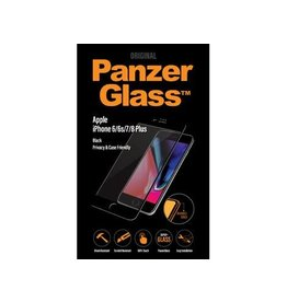 Panzerglass Apple iPhone 6/6s/7/8+ - Black Case Friendly