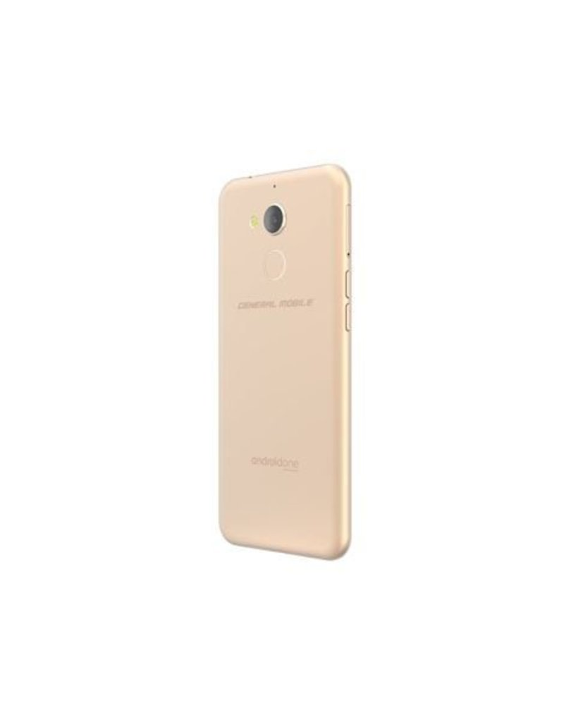 General Mobile Android One General Mobile 8 32GB DS-White Gold