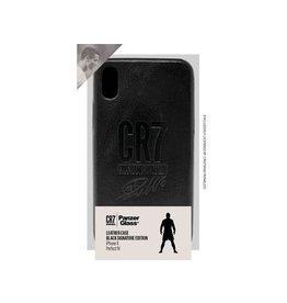 Panzerglass CR7 Leather Case iPhone X - Black Signature