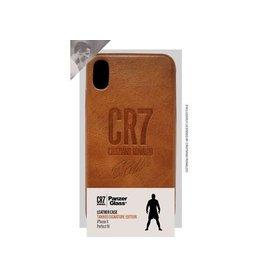 Panzerglass CR7 Leather Case iPhone X - Tan Signature