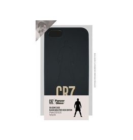 Panzerglass CR7 Silic.Case iPhone 5/5S/5C/SE-Blk/Gold FreeKi
