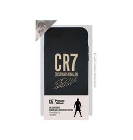 Panzerglass CR7 Silic.Case iPhone 6/6s/7/8-Blk/Gold Signatur