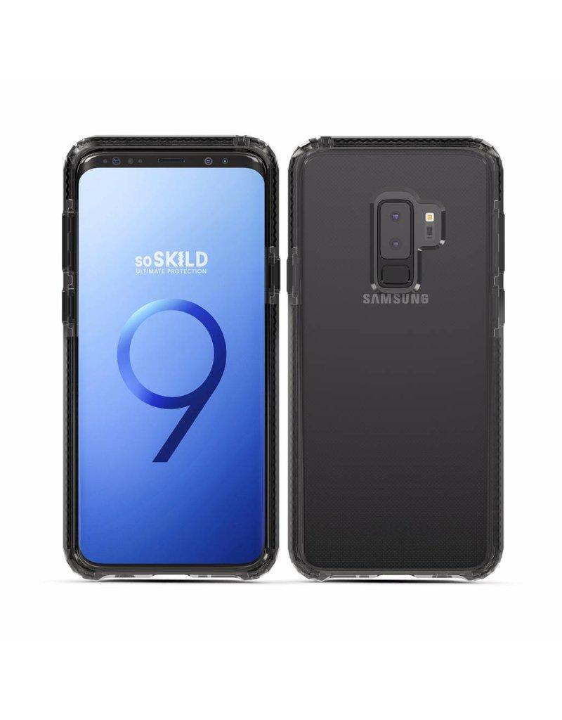 SoSkild SoSkild Samsung Galaxy S9+ Defend Heavy Impact Case Smokey Grey