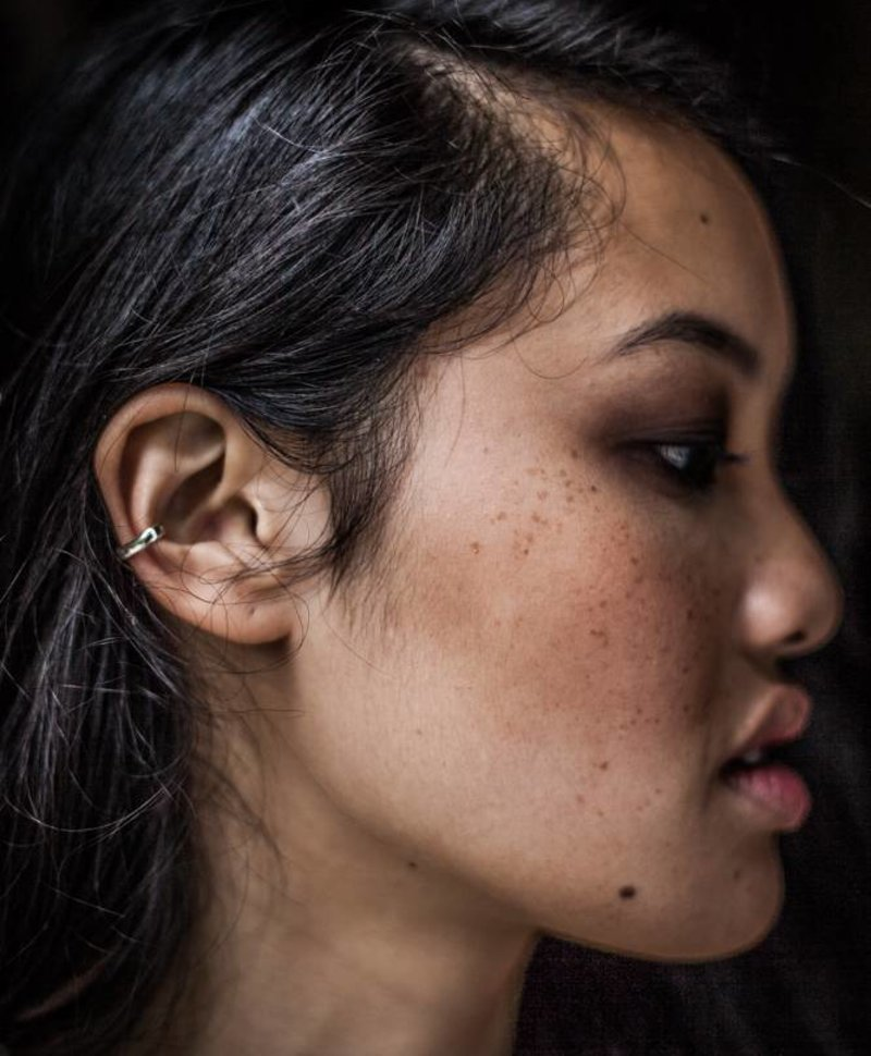 Minimalistic Ear Cuff Gumption, Silver