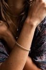 Gold Plated Gedraaide Armband Makana
