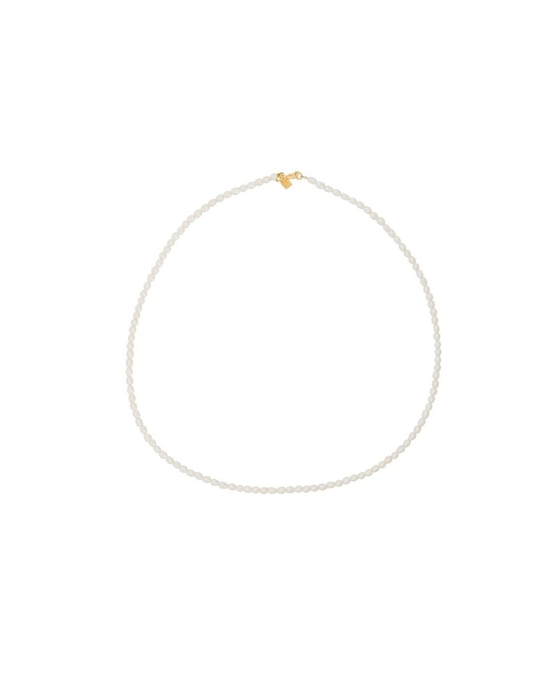 Pearl Necklace Benya, Gold Plated