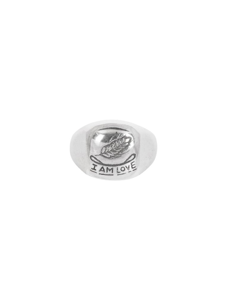 Square Signet Ring Barley