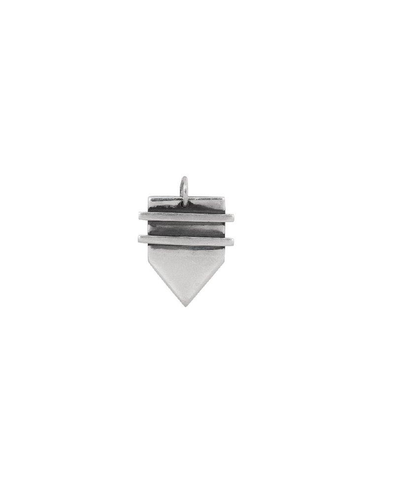 Zilveren Mannen Hanger Batish